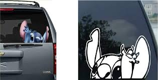 Amazon Com Lilo Stitch Decal Car Auto Window Sticker Decal For Car Truck Suv Motorcycle Clothing
