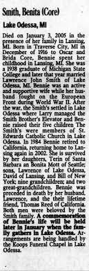 Obituary for Benita Smith - Newspapers.com