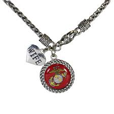 relationship heart charm necklace