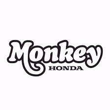 Powertex Honda Store Honda Powersports Honda Monkey Vinyl Decal