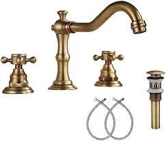 antique brass bathroom vanity faucet