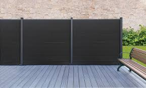 Composite Fencing Upvc Fence Panels Eurocell