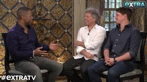 Jon Bon Jovi Talks About Working for His Entrepreneur Son - YouTube