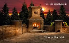 victorian fireplace kit parr lumber