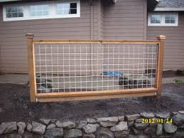 Cattle Hog Panel Deck Railing Oscarsplace Furniture Ideas Separate And Combine Hog Panel Deck Railing
