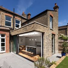 reclaimed brick was used on the