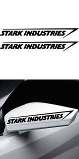 Hot Sale Stark Industries Sticker Vinyl Decal Marvel Iron Man Avengers Car Window Car Stying Jdm Vinyl Decals Iron Man Avengers Marvel Iron Man