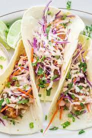 Fish Tacos Recipe with Cabbage Slaw ...