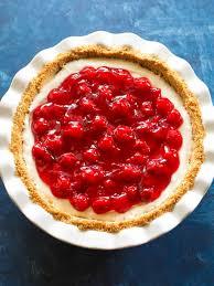 cherry cheese pie recipe the who
