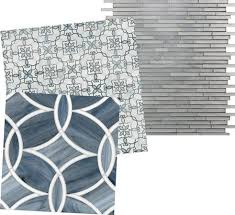 beau monde glass mosaic tile in polly