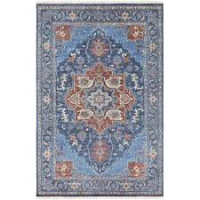 navy area rug rug size