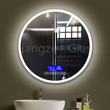 bathroom light led illuminated mirror