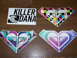 Free Free Roxy Stickers Other Listia Com Auctions For Free Stuff