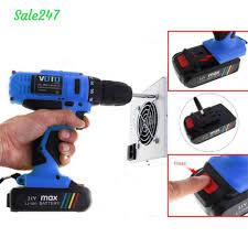 Máy Khoan Vặn Vít Dùng Pin VOTO 21V - Hàng chuẩn đủ công suất