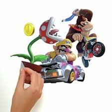 Mario Kart 8 Peel And Stick Wall Decals Roommates Decor