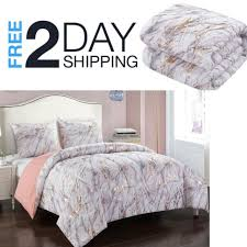 rose gold bedding for girls queen 5pc