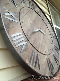 rustic clock diy farmhouse decor