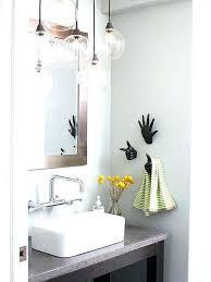hanging pendant lights bathroom vanity