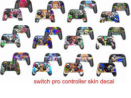 New Arrive Splatoon 2 Game Controller Skin Stickers For Nintendo Switch Pro Controller Cover Decals Wish