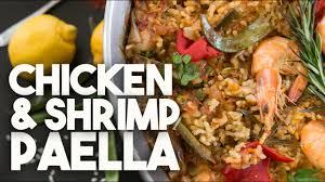 🥘 Chicken & Shrimp PAELLA