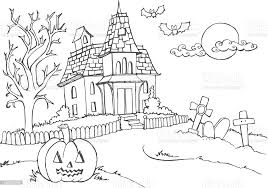 Halloween Scary House Stock Illustration Download Image Now Istock
