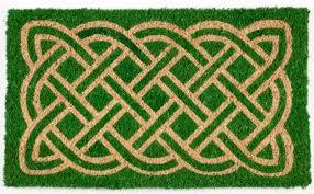 Entryways Celtic 30 In X 18 In Outdoor Door Mat Reviews Wayfair
