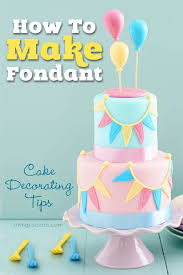 easy recipe and cake decorating tips