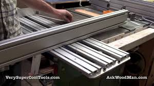Diy Table Saw Sliding Crosscut Carrier Youtube