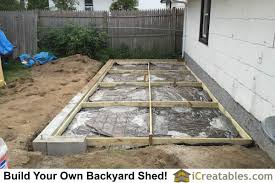 photos of lean to shed plans