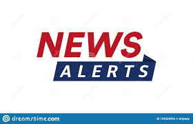 News Alerts Simple Text Banner Template, Minimalistic Style. Breaking News  Logo, Tv Design Element, Report Online Stock Vector - Illustration of  emblem, broadcast: 143334392