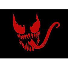 Venom Vinyl Decal Sticker Marvel Spider Man Villi Free Shipping Car Window Movie