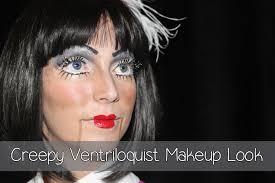 creepy ventriloquist doll makeup look