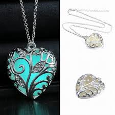 luminous stone pendant necklaces