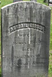 Abigail Gibson Hurd (1800-1890) - Find A Grave Memorial