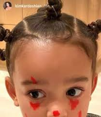 kim kardashian her children make up