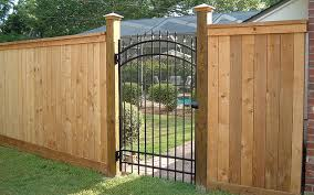 Wood Fence With Metal Gate Ruiz Fencing Wooden Fence Metal Fence Gates Wooden Fence Gate