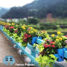 Hanging Fence Railing Flower Pots Vertical Farming Flower Pots With Automatic Irrigation Buy Hanging Fence Railing Flower Pots Vertical Farming Flower Pots With Automatic Irrigation Hanging Fence Planters Vertical Garden System Product On