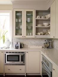 ivory kitchen design with creamy off