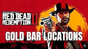 red redemption 2 gold bar