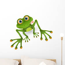 Frog Wall Decal By Wallmonkeys Peel And Stick Graphic 24 In H X 24 In W Wm98635 Walmart Com