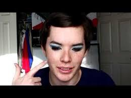 visual kei mana inspired makeup