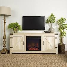 best free faux fireplace tv stand