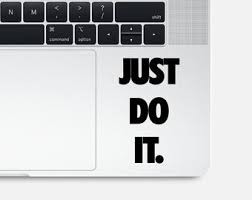 Just Do It Sticker Etsy