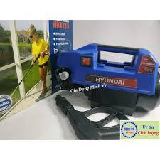 Chỉ 1,601,100đ [CHÍNH HÃNG] Máy rửa xe Hyundai HRX713 - Motor Từ- lõi đồng  100% - có video test máy