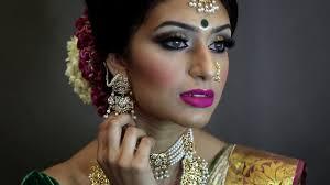 tamil bridal makeover by viva hair