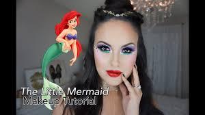 little mermaid makeup tutorial