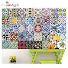 Mediterranean Style Self Adhesive Tile Art Wall Decal Sticker Diy Kitchen Bathroom Home Decor Vinyl B Decorative Vinyl Wall Decals Stickershome Decor Aliexpress