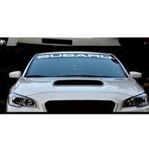 Subaru Windshield Banner Decal Sticker Subaru Windshield Car Banner