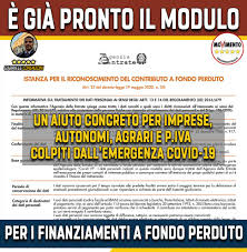 È GIÀ PRONTO IL MODULO PER I... - Gabriele Lorenzoni