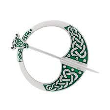 green enamel tara brooch r c mccormack